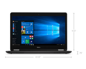 "Dell Latitude E7470 Ultrabook 14"" Intel i5-6300U vPro 8GB 256GB M.2 SSD NO-DVD Win10Pro"