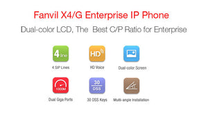 Fanvil X4 IP Phone