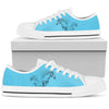 Horse Blue Women's Low Top Shoe