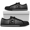 Basset Hound Women's Low Top Shoes (Black) - Gifts Buddies Reviews