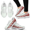 Pretty Baseball Women's Sneakers (White)