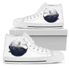 Couple Wolf shoes Women's High Top