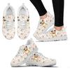 Pug Women Sneakers Shoe