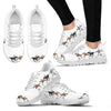 Horse Women Sneakers (White)