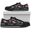 Red & Green Fishing Women's Low Top Shoe