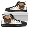 Pug Women's High Top Shoes