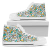 Pug Lover Shoes - Women's High Top