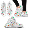 TEACHER PATTERN Women's Sneakers