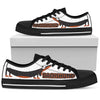 Dachshund Black Women's Low Top Shoe