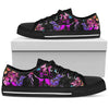 Dachshund Floral  Men's Low Top Shoe