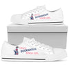 Crazy bookaholic kinda girl Women's Low Top Shoe