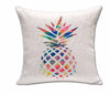Pineapple Cotton Linen Throw Pillow Cover - Gifts Buddies Reviews