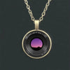 Camera Lens Pendant Necklace