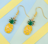 Ear Hook Pineapple Earrings - Gifts Buddies Reviews