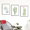 Succulent Cactus Canvas Art - Gifts Buddies Reviews