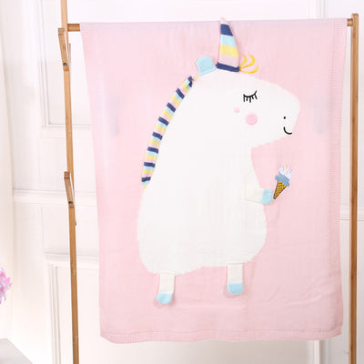 Cute Kids Unicorn Blanket - Gifts Buddies Reviews