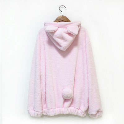 Fluffy Bear Ears Cosplay Jacket - Gifts Buddies Reviews