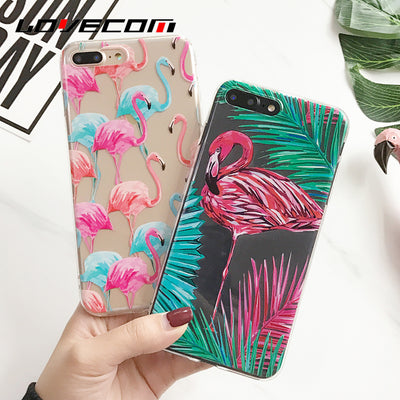Flamingo Coque Transparent Silicon Case For iPhone - Gifts Buddies Reviews