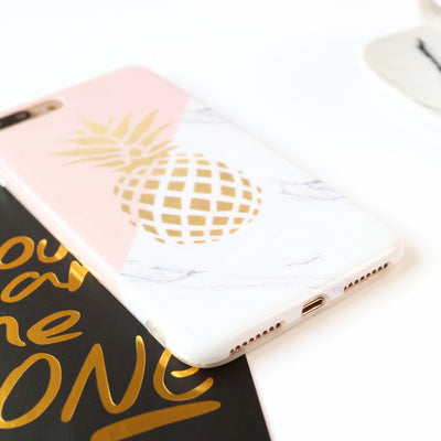 Golden Pineapple Phone Cases - Gifts Buddies Reviews