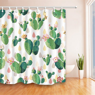 Cactus Flower Shower Curtain - Gifts Buddies Reviews
