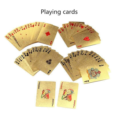 24K Gold Poker Cards - Gifts Buddies Reviews