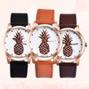 Leather Pineapple Watch - Gifts Buddies Reviews
