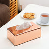 Rose Gold Tissue Box
