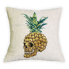 Skull Sunglasses Pineapple Cushion Cover - Gifts Buddies Reviews