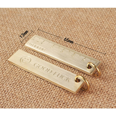 Mini Brass Keyring Ruler - Gifts Buddies Reviews