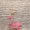 Lovely Pink Flamingo Long Legs Earrings - Gifts Buddies Reviews