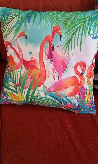 Colorful Flamingo Cushion Pillow - Gifts Buddies Reviews