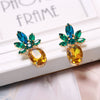 Pineapple Rhinestones Stud Earrings - Gifts Buddies Reviews
