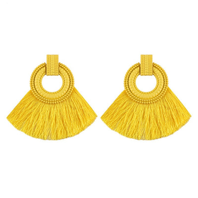 Fringe Statement Earrings - Gifts Buddies Reviews