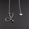 Stethoscope Heart Pendant Necklace - Gifts Buddies Reviews