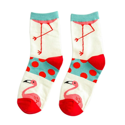 Cartoon Flamingo Socks - Gifts Buddies Reviews