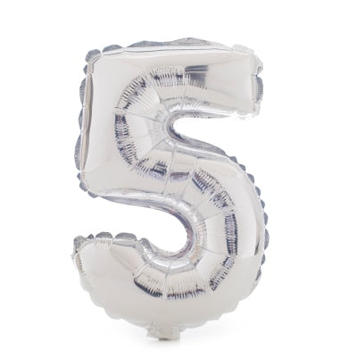 Large Silver Foil Number Balloons - Gifts Buddies Reviews