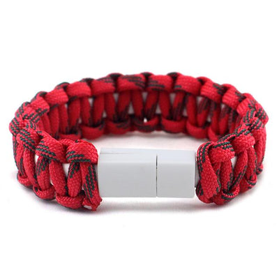 FREE - USB Phone Charger Paracord Bracelet - Gifts Buddies Reviews