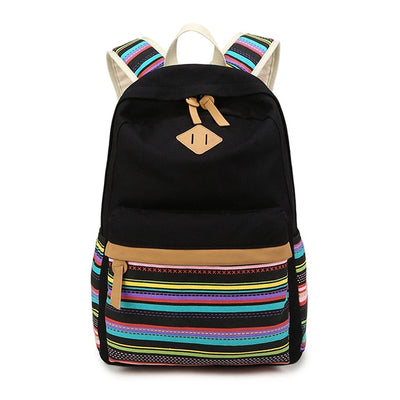 Girls Striped Backpack - Gifts Buddies Reviews