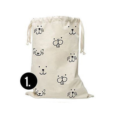 Canvas Print Laundry Bag - Gifts Buddies Reviews