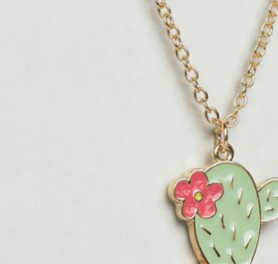 Flower Cactus Plant Pendant Necklace - Gifts Buddies Reviews