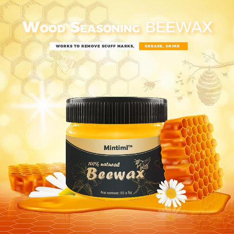 Image of Wood Seasoning Beeswax - Bring Dull Furniture Back To Life!