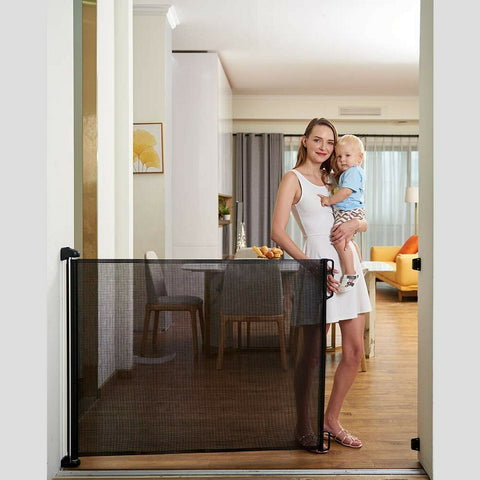 Image of Portable Kids & Pets Safety Door Guard (2020 Upgraded)