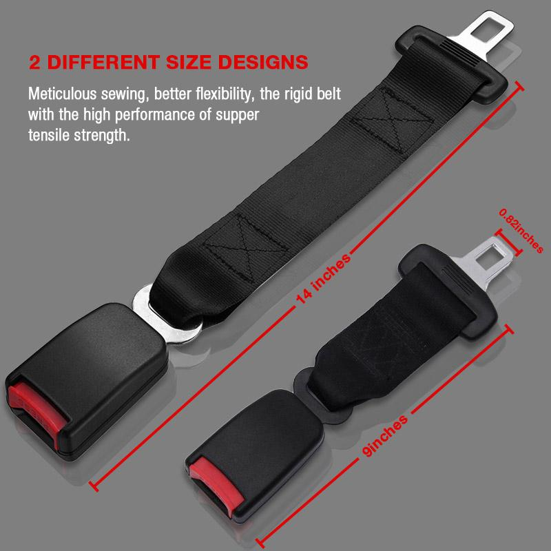 Car Safety Extension Belt - Designed To Provide Safety With The Original Seat Belt!
