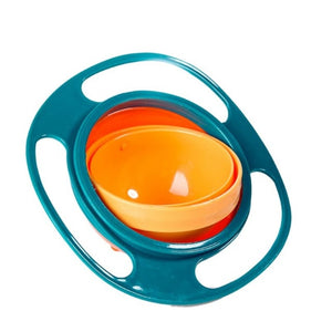 GYRO™ Spill Proof Baby Bowl - Fewer Cleanups After Every Snack!