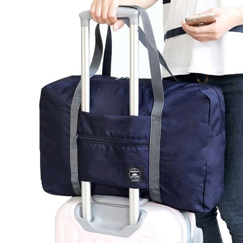 Image of Foldable Luggage Travel Bag - Makes Travel Storage Easy!