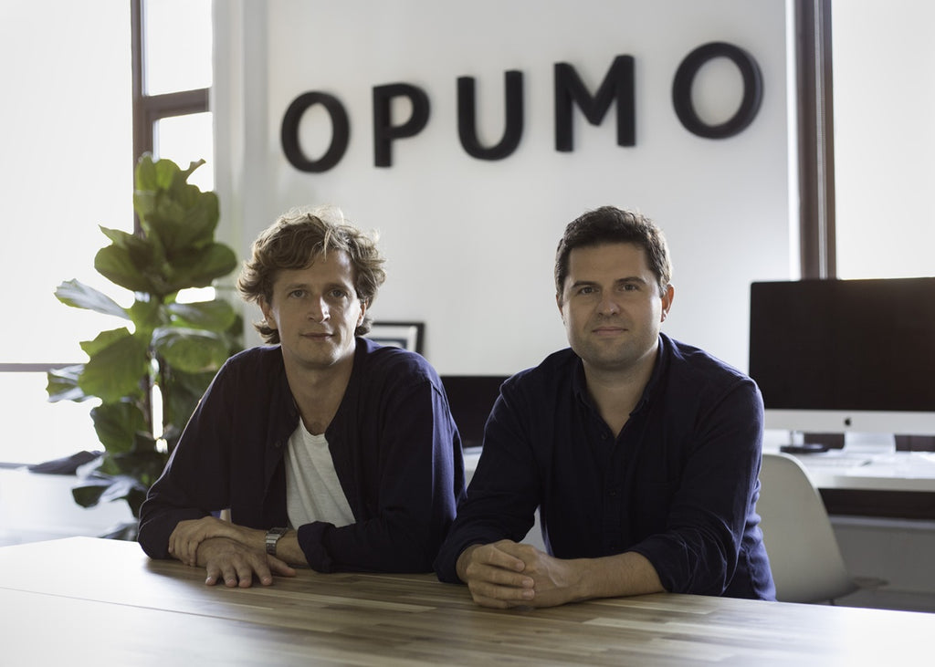 Harry Beattie Nick Ayoub founders of OPUMO