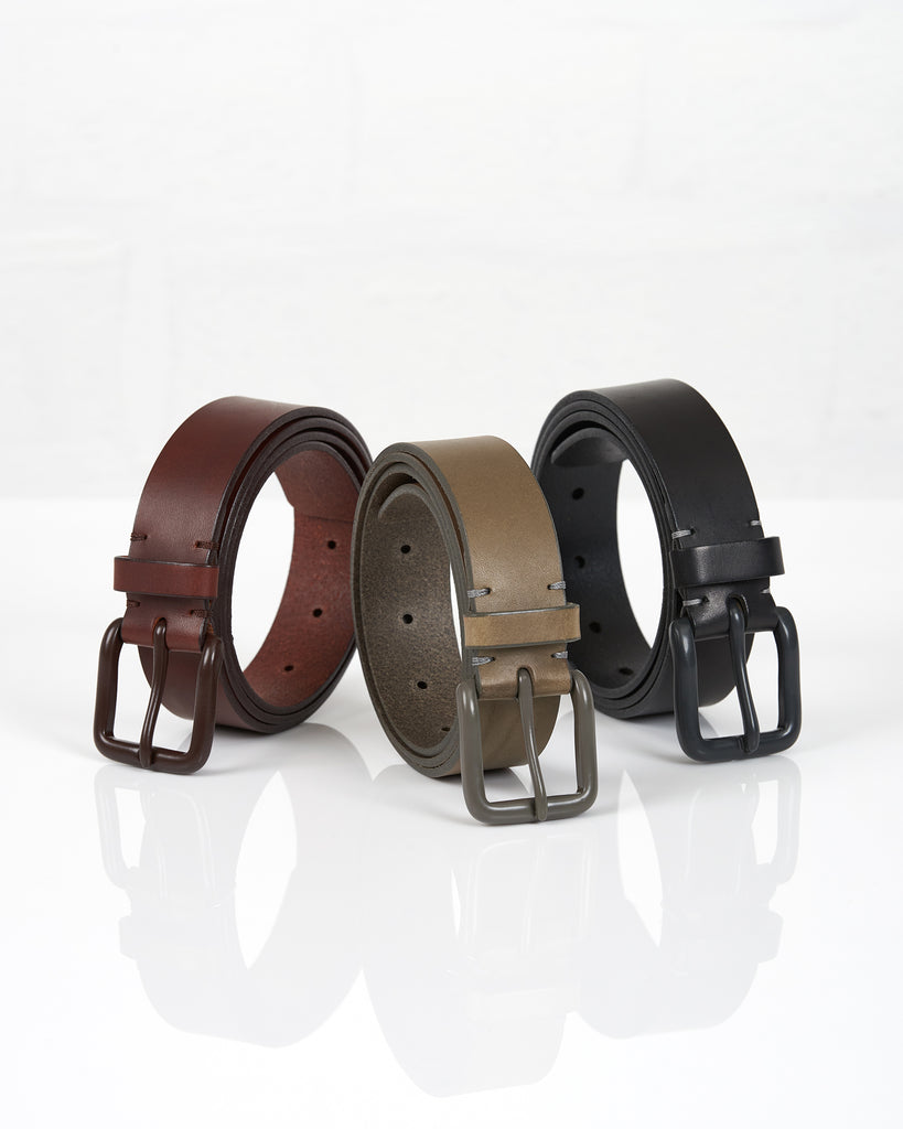 Modernist Belt - Form Grey / Grey