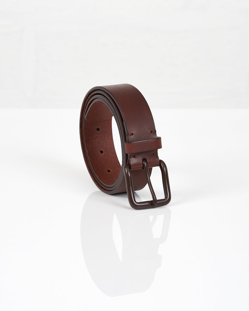 Modernist Belt - Russett Brown / Brown