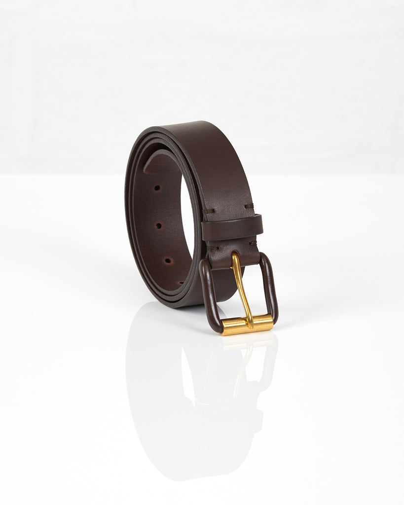 Modernist Exposed Belt - Chocolate Brown / Brown