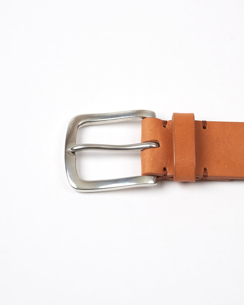 Original Belt - Tan / Polished Pewter